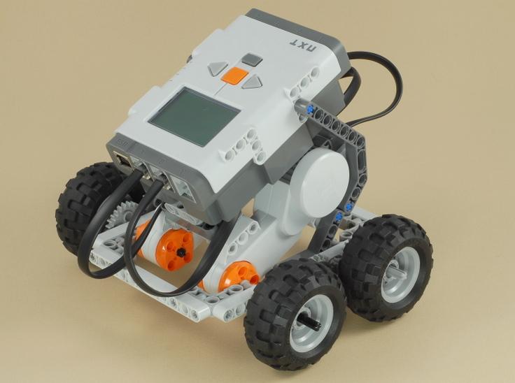 робота между колесами.