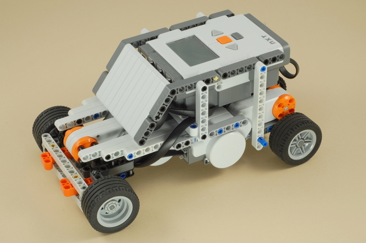 Nxt Race Car