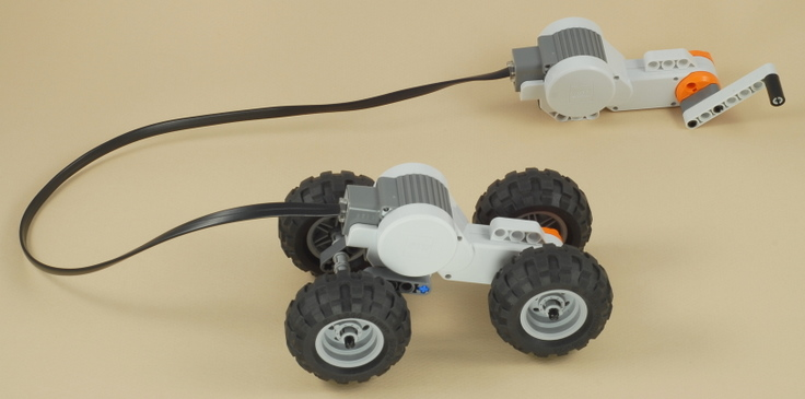 NXT Hand Generator Car