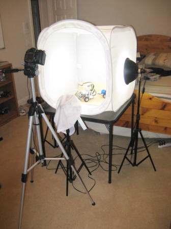 & Stage 3: Using a Light Tent