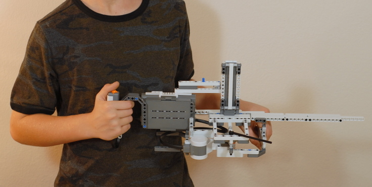 Lego Mindstorms Ev3 Gun Building Instructions