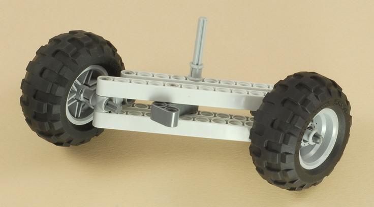 Nxt Steering Rover